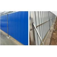 Buy cheap Durable Temporary Hoarding Panels , Steel Hoarding Panels With ISO9001 product