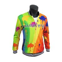 Buy cheap Stylish Sublimation Casual Polyester Sports Jacket With Pockets Comfortable product