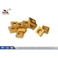 Buy cheap CCMT120408 Hard Metal Cemented Carbide Cutting Inserts For Lathe Holder product