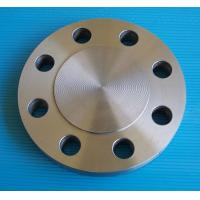 China Round 304L Duplex Stainless Steel Blind Flange 150# RF FF TF RTJ ASME B16.5 ASTM A182 on sale