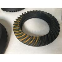Buy cheap NISSAN Spiral Bevel Gear Crown Wheel Pinion Big Diameter 20CrMnTiH Material product