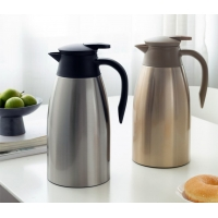 Buy cheap 2000ml BSCI Stainless Steel Vacuum Insulated Teapot product