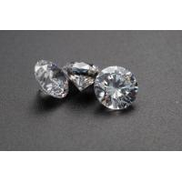 Buy cheap Loose Diamond Moissanite 5ct 11mm DEF super White Color Round Brilliant Cut VVS1 product