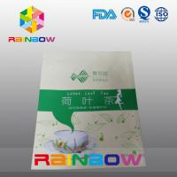 Buy quality Stand Up Moisture Proof Tea Bags Packaging With Top Zipper And Tear Notch at wholesale prices