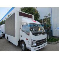 China Outdoor Double Side LED Screens P10 Mobile Truck Advertising Durable Sign for Roadshow on sale