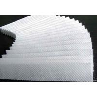 Buy cheap Hot Stamping Non Woven Textile , White / Blue Non Woven Filter Fabric product