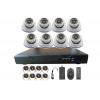 China 2 Mega Pixel 8 Channel Outdoor Home Security Camera Systems With NVR on sale