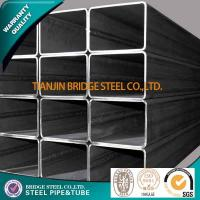 Buy cheap Q195 Q235 Q345 Welded Square Steel Tube , ASTM A500 BS1387 Structure Pipe product