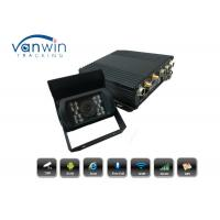 Buy cheap 4CH H.264 128GB SD 3G GPS WiFi MDVR Vehicle Car DVR Recorder IR Rear View Camera from wholesalers