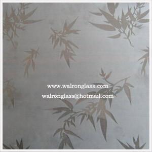 Silk Screen Printing Glass/Art Glass/ Tempered/Toughened Glass