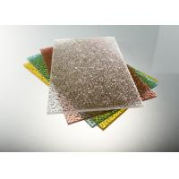 Buy cheap Plastic Polycarbonate Roofing Panel In Clear , 4 X 8 Frosted Polycarbonate Sheet product