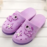 Buy cheap Indoor Closed Toe House Slippers , Cute Cartoon Closed Toe Slide Sandals from wholesalers