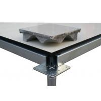 Buy cheap 10mm Ceramic Cover Raised Access Floor Tiles / Good Load Carrying Capacity Static Control Flooring product