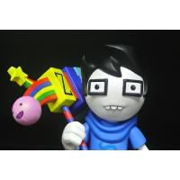 Glasses Boy Custom Action Figures Home Decoration With A Colourful Chopper