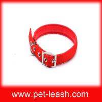 Buy cheap Exports Europe and the United States red nylon collar dog collar pet collar QT-0036 from wholesalers