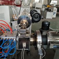 Buy cheap Two Cavity PC LED Tube Production Line Plastic Extrusion Machine Stable Extruding product