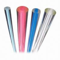 Buy cheap Acrylic Line Rod, Available in Vairous Colors, Crush- and Weather-resistant product