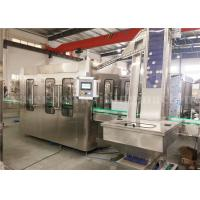 Buy cheap Beverage Glass Bottle Filling Machine , High Speed Pulp Juice Filling Machine product