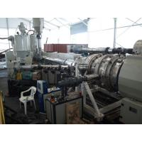 Buy cheap Under Ground HDPE Drainge Solid Pipe Machine 800kg/h Max Output Easy To Operate product