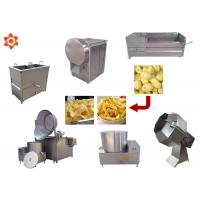 Buy cheap 150kg/H Capacity Potato Chips Machine 304 Stainless Steel Material CE / ISO product