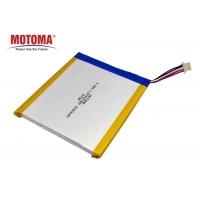 Buy cheap 3.85V 3300mAh Computer Lithium Battery With UL UN MSDS Certificate product