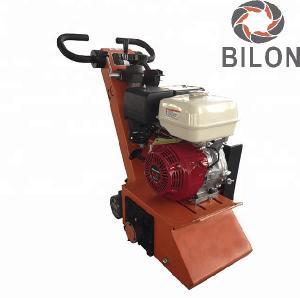 China Walk Behind Concrete Scarifier Machine 13HP 25HP Asphalt Road Scarifying Machine on sale