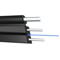 Buy cheap Fiber To The Home Outdoor Aerial Drop Cable 1core FTTH Steel Wire/FRP/KFRP Dia 2* (0.5-0.8MM) product