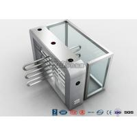 Buy cheap Double Anti - Clipping Waist Height Turnstiles AC220V With Stepping Driver Motor product