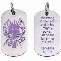 Buy cheap Promotional metal dog tag product