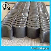 Industrial Ferrite Arc Magnet For PMSM Motor ROHS SGS ISO9001 Certification