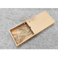 Buy cheap Recycle Packaging Cardboard Gift Boxes With Lids Rectangle Shape product