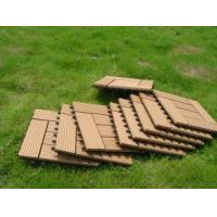 Waterproof Solid WPC Decking / Hollow WPC Decking / WPC Wood Board