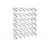 Buy cheap 4mm Wall Mounting Clear Beverage Display Rack Superior Acrylic product