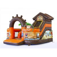 Buy cheap Commercial Bounce House Playground , Inflatable Play Structures Fire Proof UV Resistant product