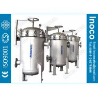Buy cheap BOCIN stainless steel multi bag filter with CE certificate for water treatment filtration product