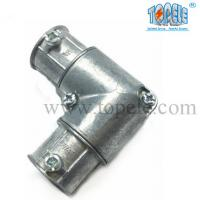 Buy cheap 90 Degree Electrical Conduit Fittings Zinc Inside Corner Set Screw Coupling Pull from wholesalers
