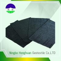 Buy cheap Recycled / Virgin Geotextile Woven Fabric Pp 160kn Split Film For Railway Project product