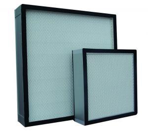 Buy cheap Fiberglass Mini-pleated HEPA Filter for HVAC, AHU, Labs product