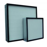 Buy cheap Fiberglass Mini-pleated HEPA Filter for HVAC, AHU, Labs from wholesalers