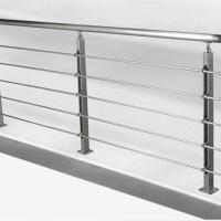Buy cheap Solid Rod Stainless Steel Railing Design for Balcony / Stairs product