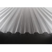 Buy cheap High Transparency Corrugated Polycarbonate Sheets For Skylights 10 Years Warranty product