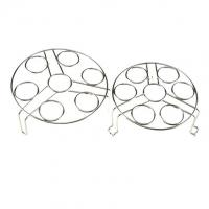 Buy cheap Kitchen Stainless Steel Egg Steamer Rack For Cooker Pot 304 Grade Eco - Friendly product