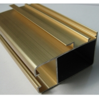 Buy cheap Anodized Gold Aluminum Furniture Profile product