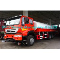 Buy quality Sinotruk SWZ 6*4 Water Tanker / Oil Tanker Truck with EURO III Emission at wholesale prices