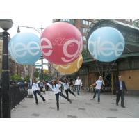 2m Diameter Colorful Inflatable Advertising Balloons Durable For Parade Events Manufactures