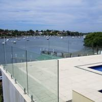 Buy cheap Professional Installed Frameless Pool Fencing with Spigot Railings Designs product