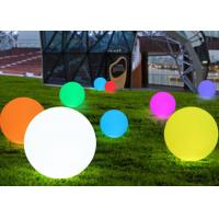 Buy cheap Romantic Decorative LED Waterproof Ball Color Changing with PE Material from wholesalers