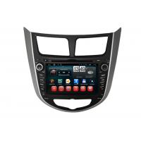 Buy cheap Hyundai Verna Accent Solaris Android DVD Player Central GPS Navigation BT TV product