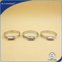 Buy cheap 9mm 12mm Stainless Steel Hose Clamps German Type GB / DIN Standard product