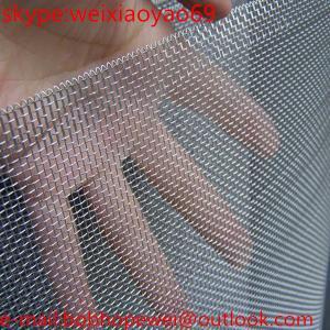 aluminum wire mesh/wire invisible window screen